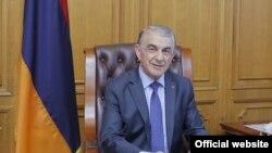 Председатель Национального собрания Армении Ара Баблоян (архив)