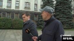 У відповідь на запитання з журналістів про те, з ким він мав зустріч у ОП, Сергій Нижний заявив: «це ж моя приватна справа»