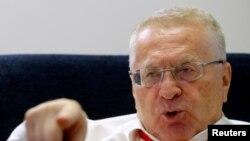 Лидер партии ЛДПР и депутат Госдумы России Владимир Жириновский.