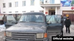 Жарылуучу зат салынган автоунаа. Бишкек, 25-декабрь.