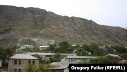 Pamje nga një fshat malor në Dagestan