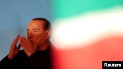 Ish-kryeministri italian, Silvio Berlusconi.