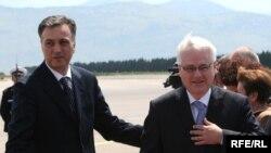 Filip Vujanović i Ivo Josipović, fotografije uz tekst: Savo Prelević