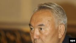 Казак президенти Нурсултан Назарбаев. 2008-жылдын 7-августу.