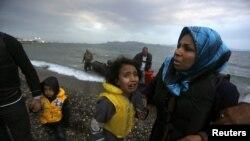Migrantë në Greqi