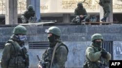 Krımda silahlı birləşmələr - 2014.