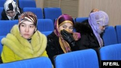 Студентки одного из учебных заведений Актобе.