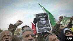 Претходните протести во Техеран за подршка на демонстрантите во Египет