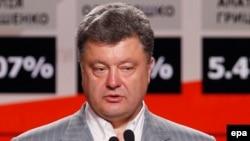 Петр Порошенко на пресс-конференции в Киеве. 26 мая