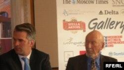 Ирвин Кершнер и Брюс Гарднер в жюри фестиваля