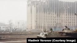 Бои у президентского дворца в Грозном (декабрь 1994-го – март 1995-го), фото Владимир Воронов
