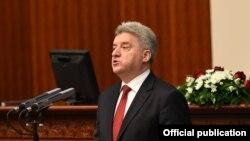 Поранешниот претседател Ѓорѓе Иванов