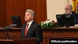 Архивска фотографија- Претседателот на Ѓорге Иванов на своето годишно обраќање во Собранието