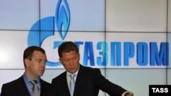 Dmitrij Medvedev i Aleksej Miler, 20 jun 2010