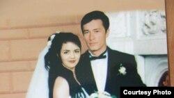 Оштук кыргыз кызы Венера Абдраимова менен өзбек жигити Баатыр Жалиевдин үйлөнүү үлпөтү, 1996-жыл
