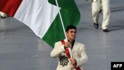 Дилшод Назаров, гурзандози маъруфи тоҷик. Бозиҳои олимпии соли 2008, Пекин