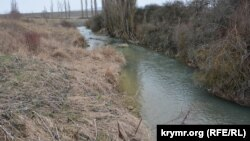 Иллюстративное фото: Крым, Белогорский р-н, река Буюк-Карасу