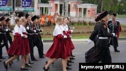 Репетиция военного парада в Симферополе, 7 мая 2019 года