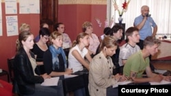 "Владимир Алексеев на семинаре ""Солдатских матерей"""