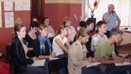 Владимир Алексеев на семинаре