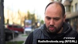 Голова «Автомайдану» Олексій Гриценко