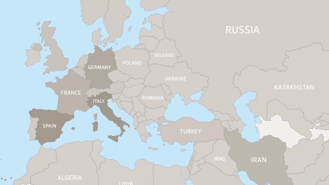 Live Map The Worldwide Spread Of The Coronavirus