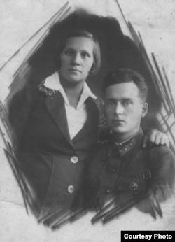 Бацькі Віктара Турава. З архіву А. Туравай
