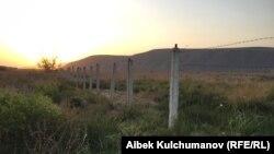Кыргыз-өзбек чек арасы.
