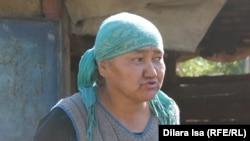 Жительница Хантагы Акмарал Раева. Южно-Казахстанская область, 5 октября 2017 года.