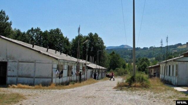 Barake bivšeg logora u selu Šljivovca kod Užica