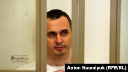Украинский режиссер Олег Сенцов, обвиняемый властями России в терроризме.