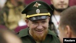 Один із командирів бойовиків на прізвисько «Моторола» на заході у Москві, жовтень 2015 року