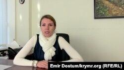 И.о президента Черноморской телерадиокомпании Людмила Журавлева