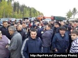 Агитаторов Левченко не пускают в Черемхово