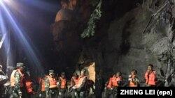 Potraga za nestalima u pokrajini Sečuan
