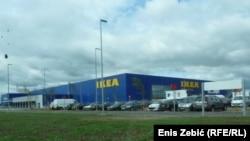 Магазин IKEA. Иллюстративное фото.