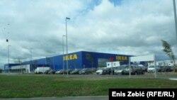 Ikea shopping centre in Zagreb