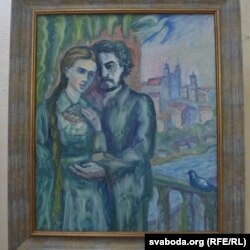 Леся Ўкраінка і Сяргей Мяржынскі (аўтар Сяргей Шунейка)