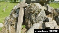 Надмагільныя знакі зь іншых могілак