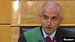Председательствующий судья Ахмед Рефаат на процессе по делу Хосни Мубарака. Каир, 3 августа 2011 года.