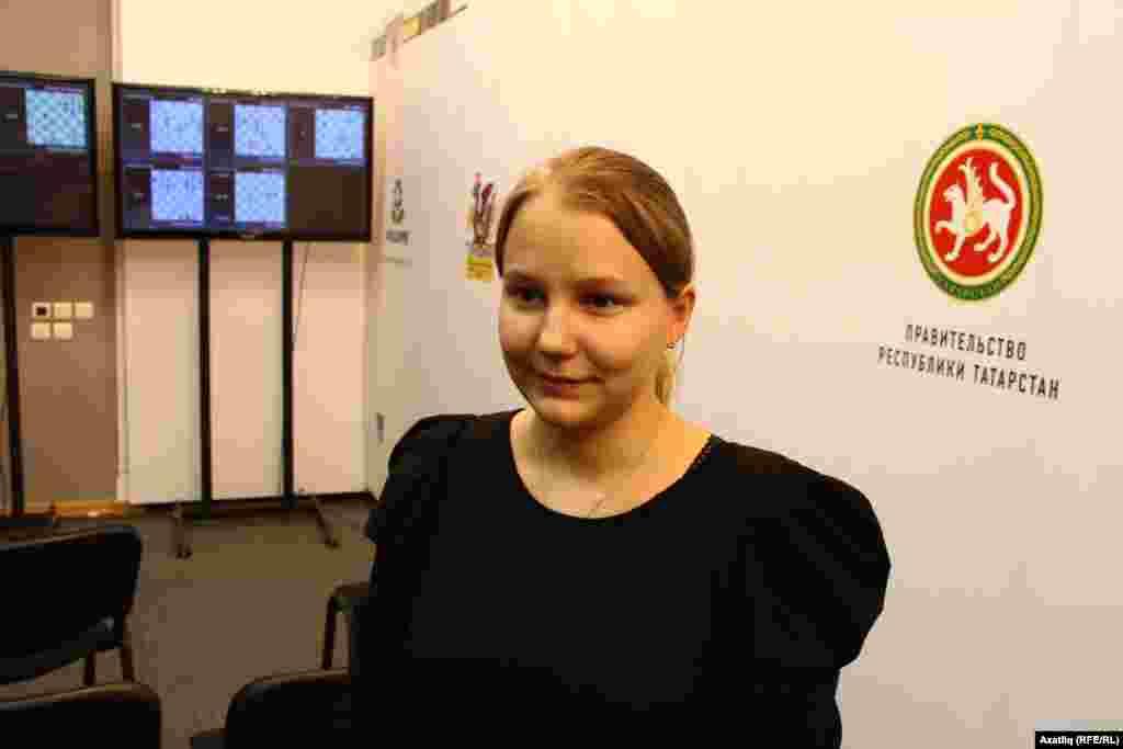Русиянең 2014 елгы шамхат чемпионы Валентина Гунина.