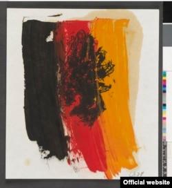 O gravură de Bazelitz în expoziția de la Londra