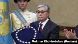 Қасым-Жомарт Тоқаев ант берген сәт. 20 наурыз 2019 жыл.