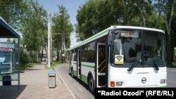 В Душанбе в некоторых автобусах есть WiFi