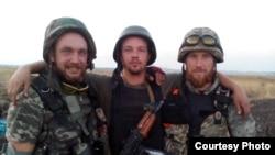 Сергій Дашевський разом із захисниками Донецького аеропорту. 2014 рік