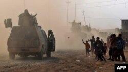 Иракские войска в Мосуле. Иллюстративное фото