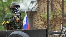 Forțe separatiste în Donețk.