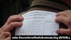 Триває збір підписів за відставку міського голови Керчі, які планують долучити до листа Дмитру Медведєву, 5 квітня 2014 року