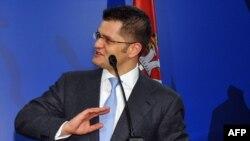 Вук Еремич, серб саясаткер. Белград, 23 ақпан 2012 жыл