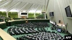 Иран парламентінің жалпы көрінісі.